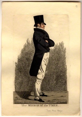 NPG D10808; Thomas Massa Alsager ('The mirror of the Times') by and published by Richard Dighton