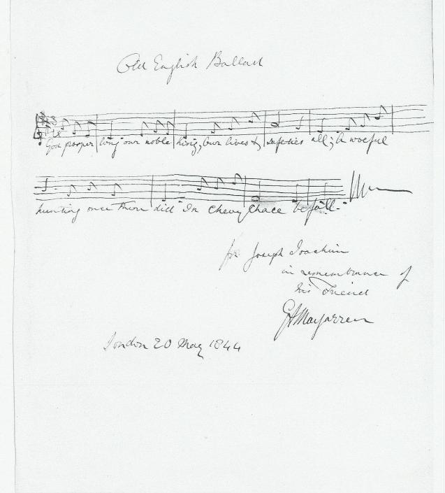Macfarren album page (scan-Lübeck?)