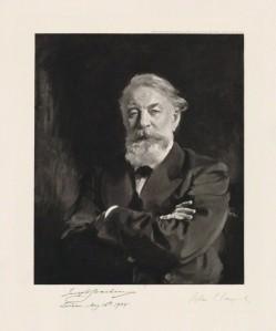 NPG D36522; Joseph Joachim published by Berlin Photographic Co, after John Singer Sargent