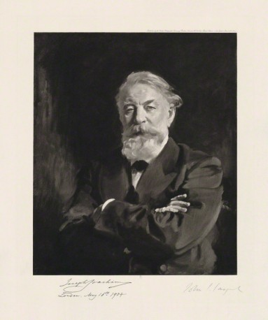 NPG D36522; Joseph Joachim published by Berlin Photographic Co, after John Singer Sargent