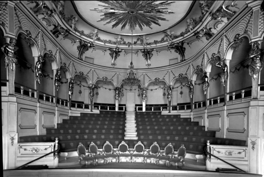 Potsdam, Sanssouci, Theater im Neuen Palais