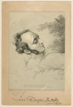 Mendelssohn Deathbed