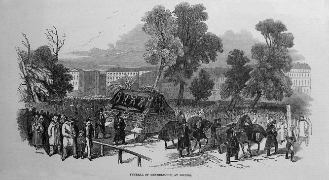 Mendelssohn's Funeral
