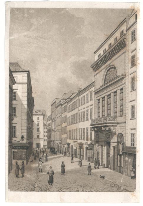 Musikvereinsgebäude unter d. Tuchlauben.