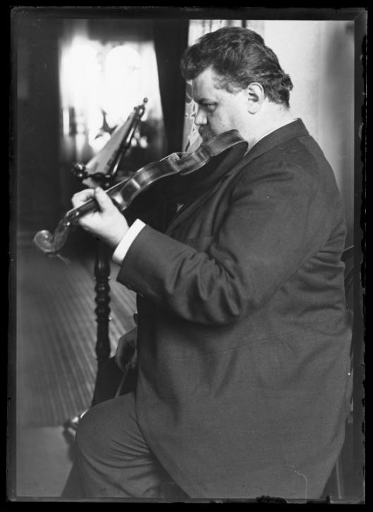 Bildnis Karl Halir (1859-1909)