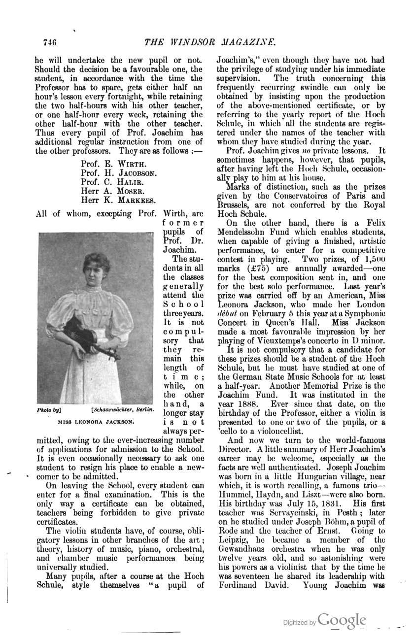 The_Windsor_Magazine Joachim School  p. 746