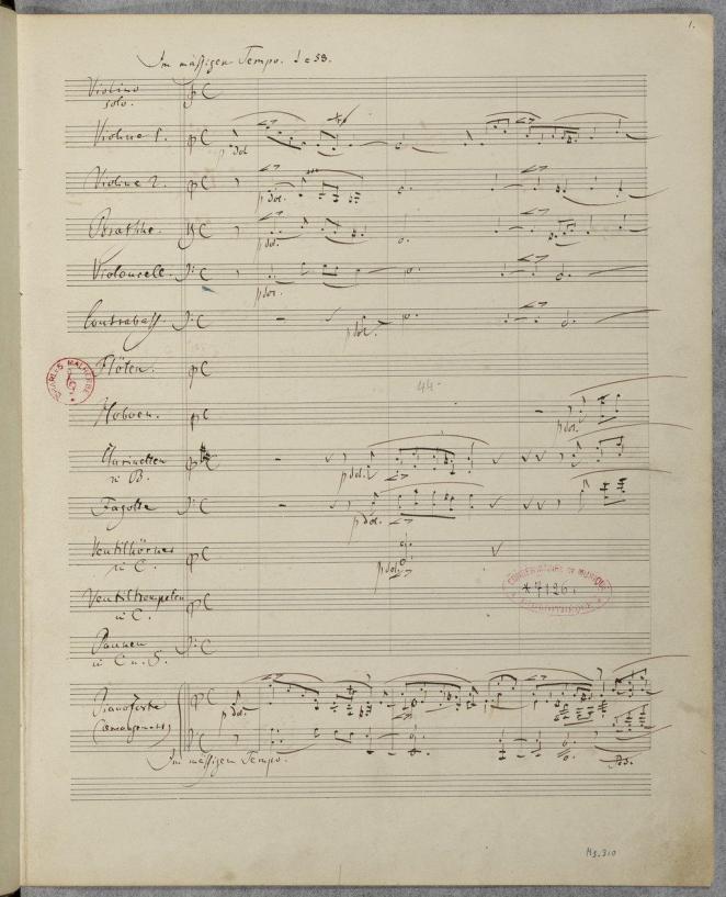 Schumann Fantasie Page 1