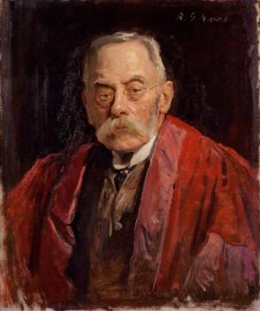 NPG 3835; Sir Frederick Pollock, 3rd Bt by Reginald Grenville Eves