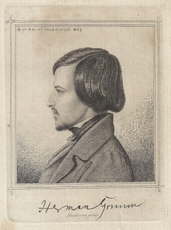 Herman Grimm by Ludwig Emil Grimm 1848